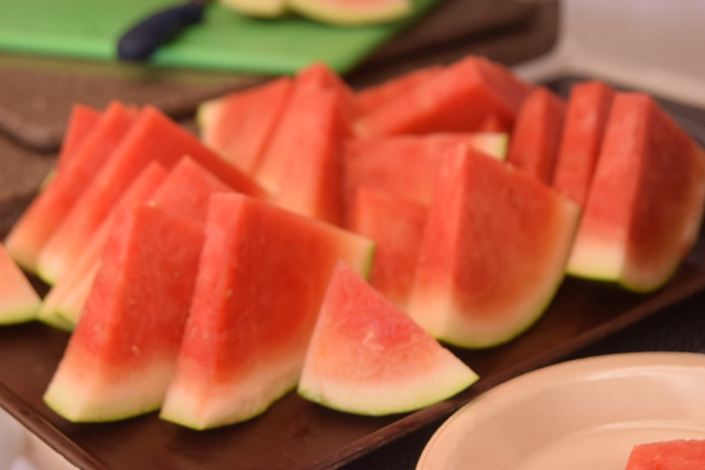 Watermelon a wonderful summer treat