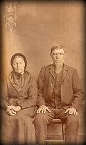 David and Helena (Unruh) Lehrman photo | Goessel Museum