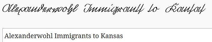 Alexanderwohl Immigrants to Kansas.JPG