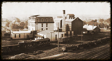 Newton Milling & Elevator Co. Newton, KS. | Goessel Museum