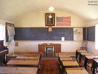Inside of South Bloomfield | Goessel Museum
