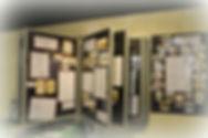 Display of one room schools   Goessel Museum