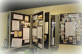 Display of one room schools | Goessel Museum