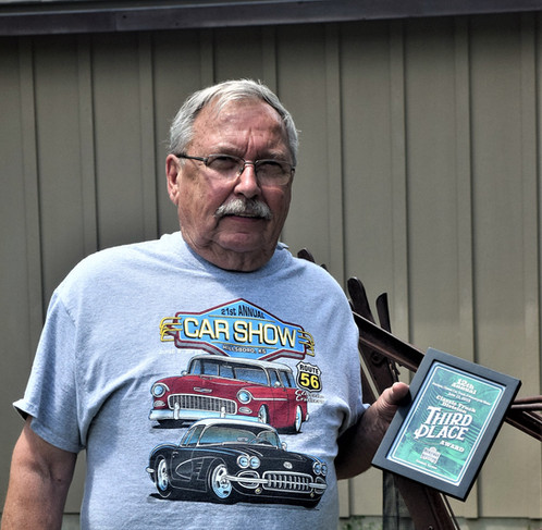 Butch Ashcraft - 3rd place Truck award- Ford Pa