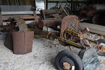 Model T tractor | Goessel Museum