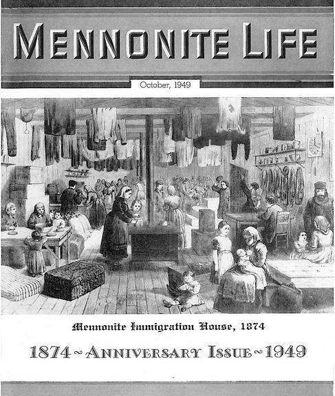 Mennonite Life Anniversary issue Oct. 1949