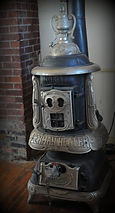 Wood burning stove | Goessel Museum