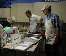 Volunteers making New Years cookies | Goessel Museum