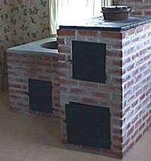 Brick oven in Friesen House | Goessel Museum