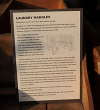 What is a laundry mangle ? | Goessel Musuem