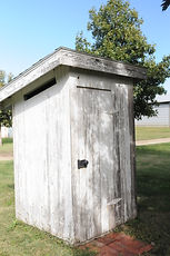 WPA outhouse | Goessel Museum