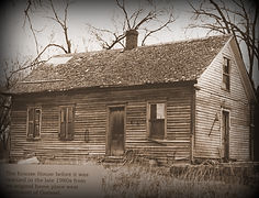 Krause House before move  | Goessel Museum