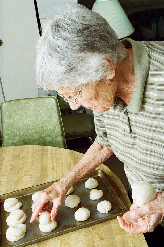 Grandma is 94