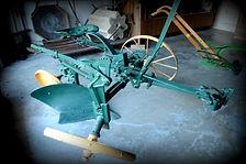 Sulky one bottom plow | Goessel Museum