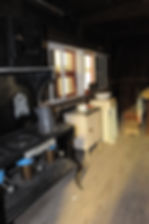 Cook shack interior | Goessel Museum