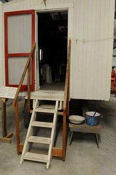 Cook shack for threshing crew   Goessel Museum