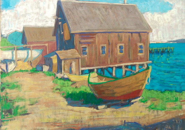 The Dory Shop 36x40in.jpg
