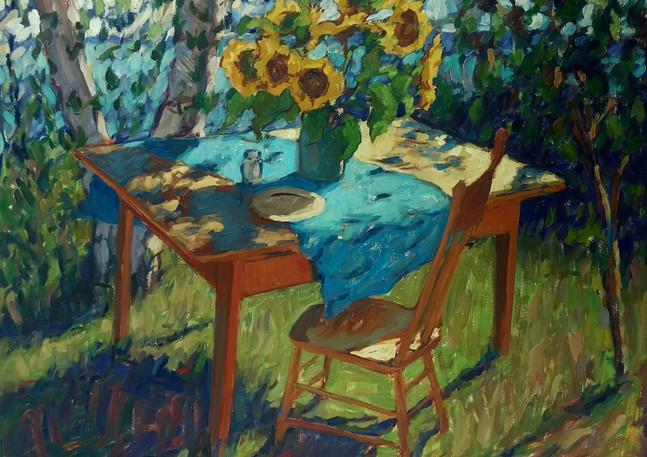 Sunflowers on Table 80x100cm 2020 copy.j