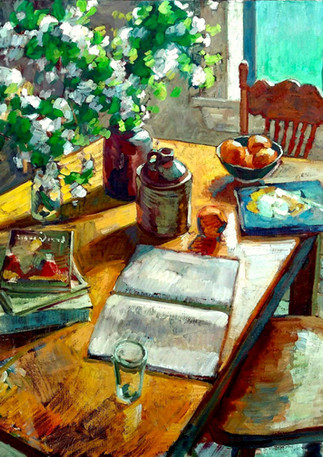 Blossoms and Books 100x120cm.jpg
