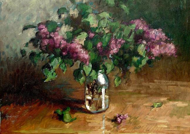 Lilacs in Jar 24x28in.jpg