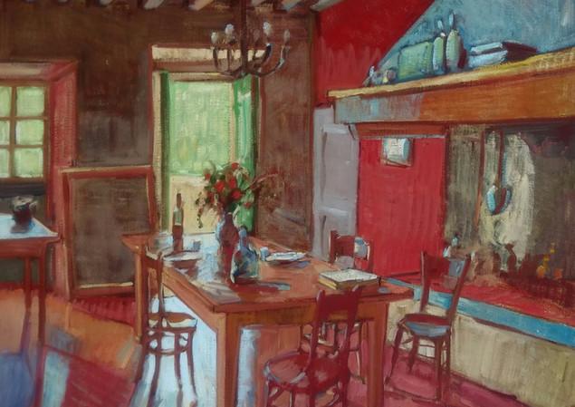 Tuscany Dining Room 100x120 cm 2018