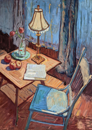 Reading by Lamplight 24x30       2021