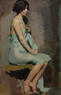 Alice-Pike-Barney-Study-of-a-Seated-Woma
