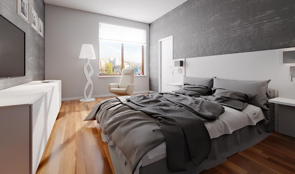 styl minimalistyczny | sypialnia