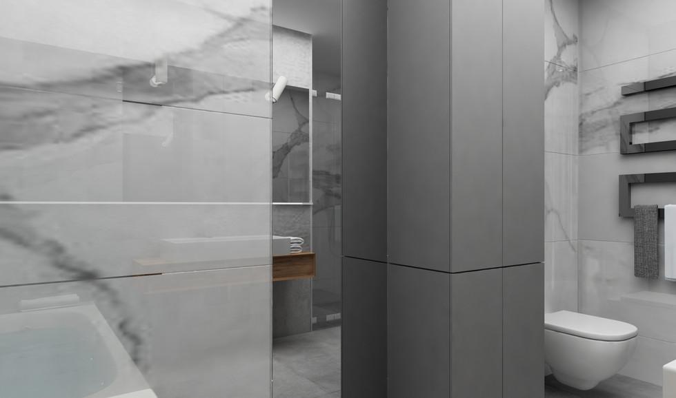 styl minimalistyczny | łazienka
