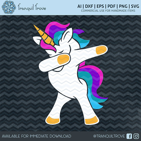 Dabbing Unicorn