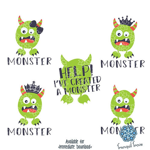 Help! I've Created a Monster with Matching Kid's Designs