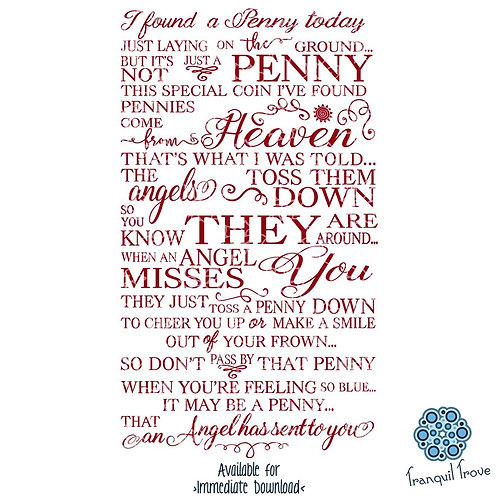 Angel Penny Poem