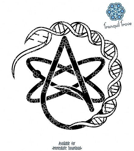 Atheist Atomic DNA Mashup
