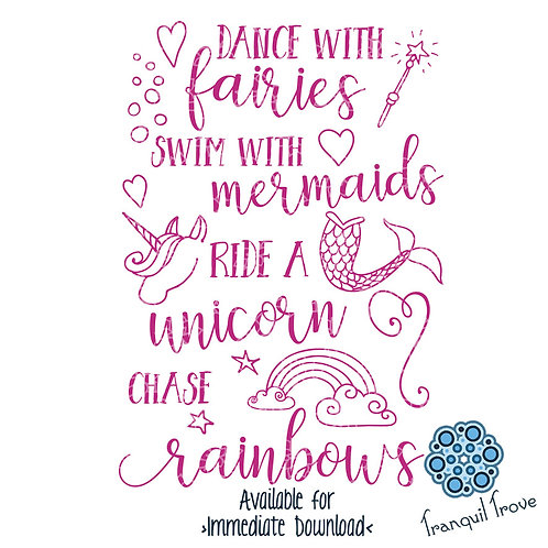 Dance with Fairies, Swim with Mermaids, Ride a Unicorn, & Chase Rainbows