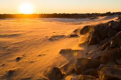 Sandstorm,Morro Bay, California, USA