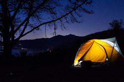 Nightfall, Big Sur, California, USA