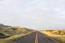 South Jetty Road, Oregon, USA