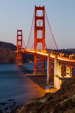 Golden Gate Bridge, SF, USA