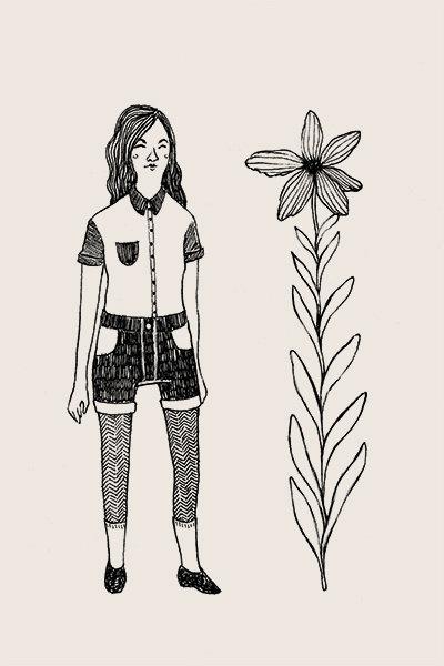 Femme & Flower