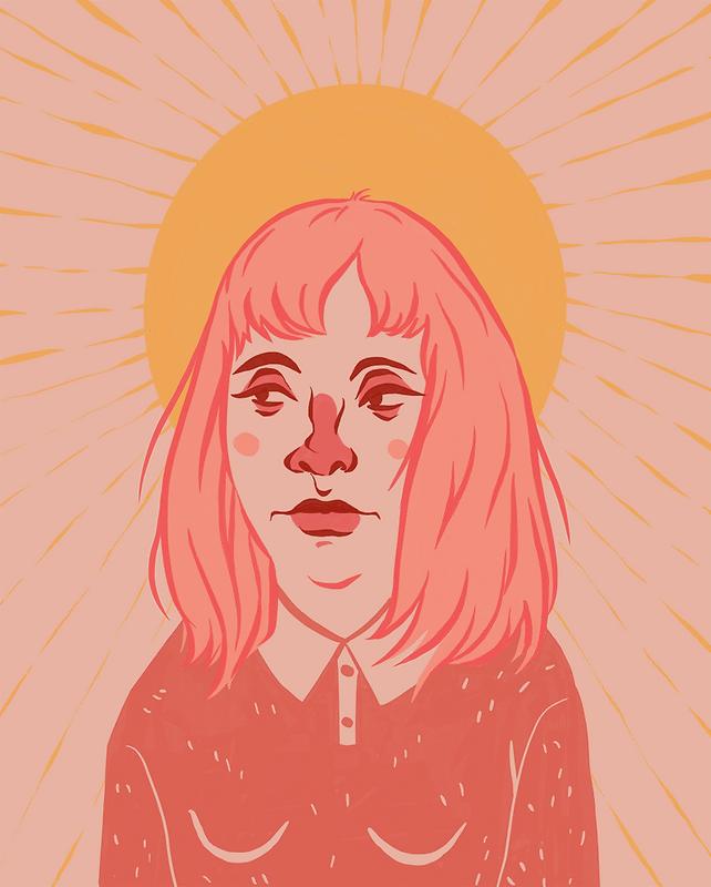 """""""Warm Feelings"""" illustration by Grace Chomick"""