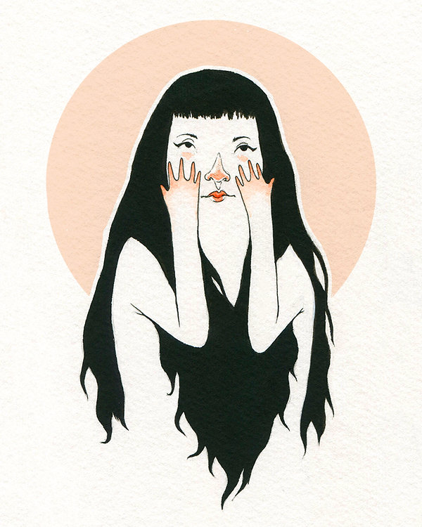 """Over It"" illustration by Grace Chomick"