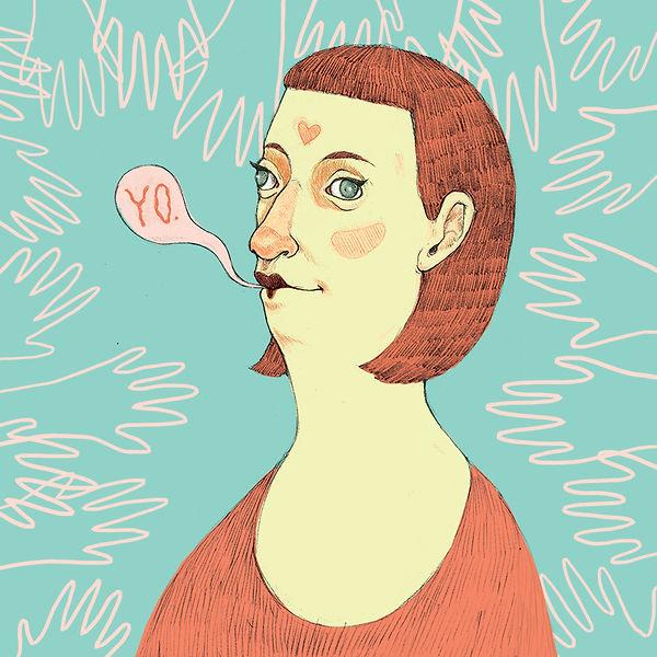 """YO."" illustration by Grace Chomick"