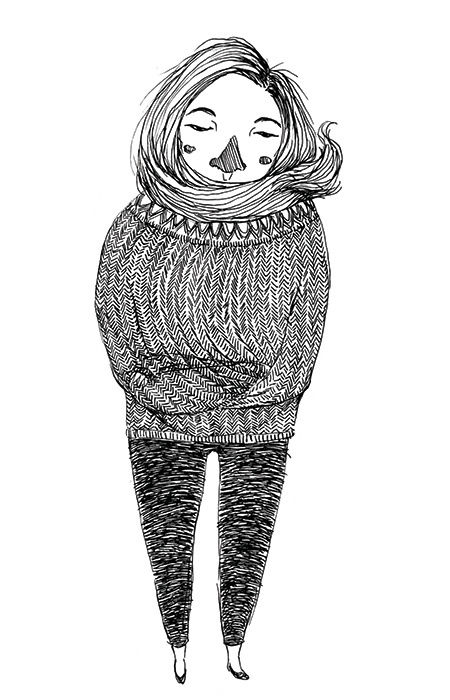 """Bundled"" illustration by Grace Chomick"