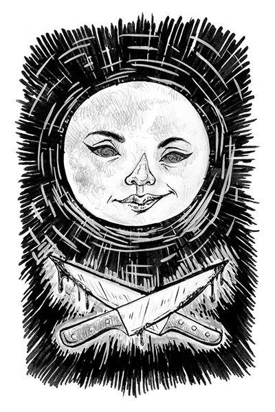 """The Killing Moon"" illustration by Grace Chomick"