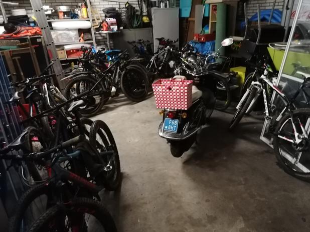 gratis gebruik van garage