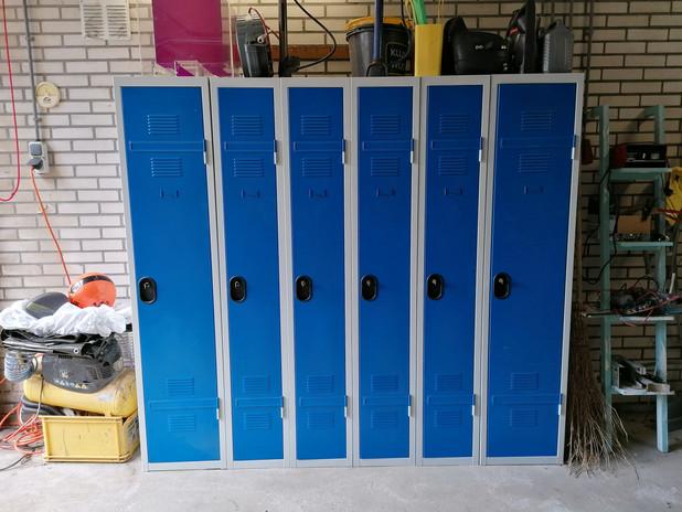 gratis gebruik van lockers
