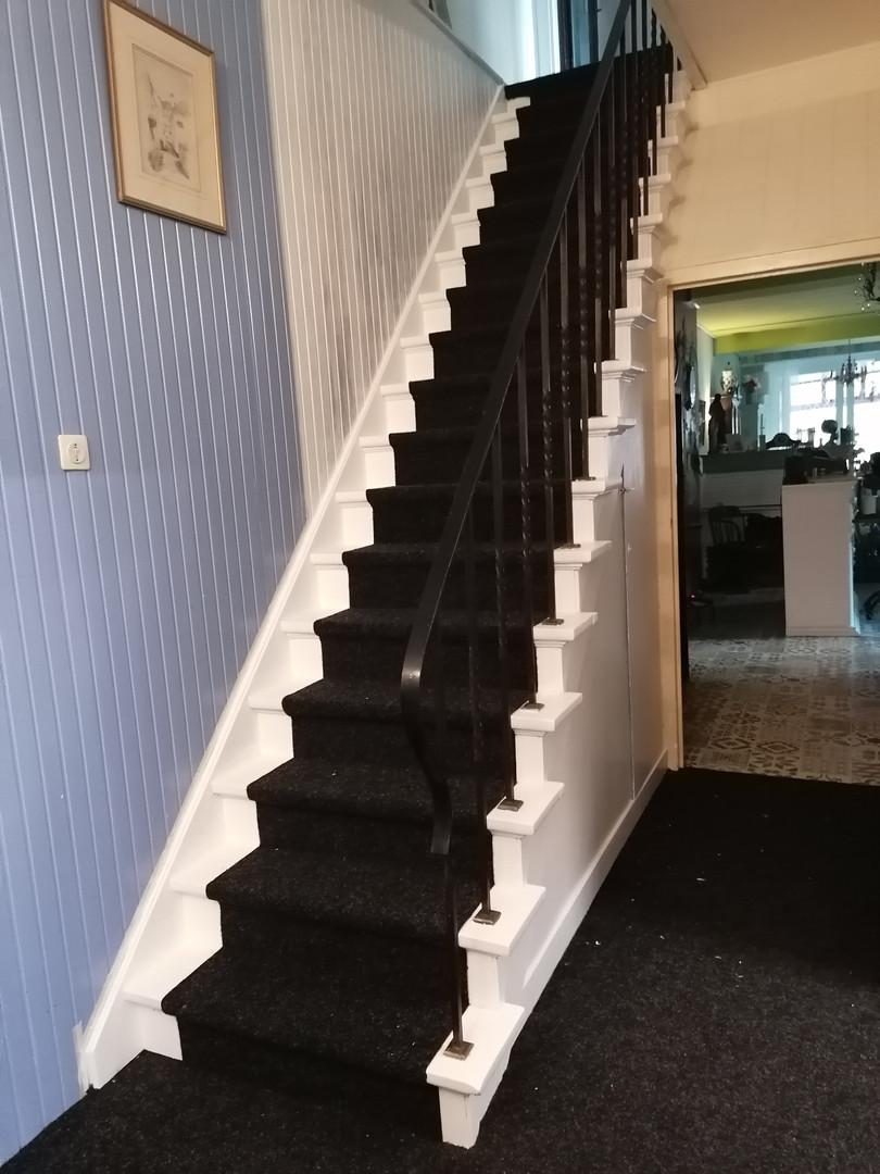 Trap, geen lift!