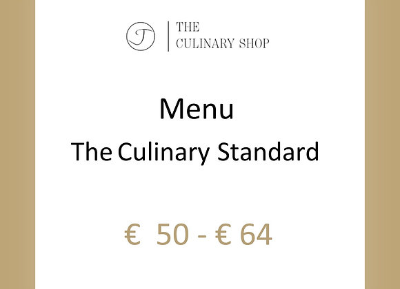 Menu l The Culinary Standard