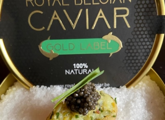 Smaakmaker l Pommes Moscovite met Royal Belgian Caviar