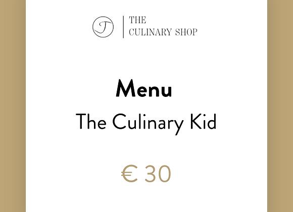 Menu l The Culinary Kid